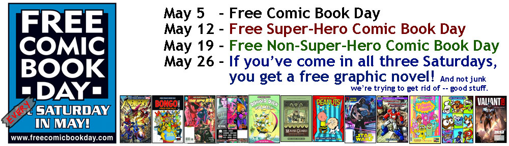 Free Comic Book May