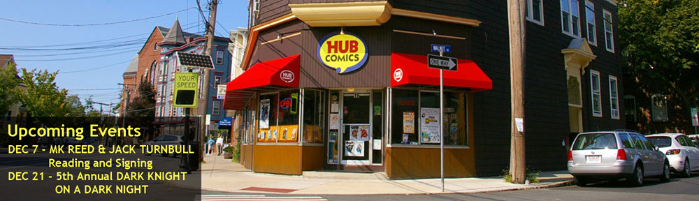 Welcome to Hub Comics