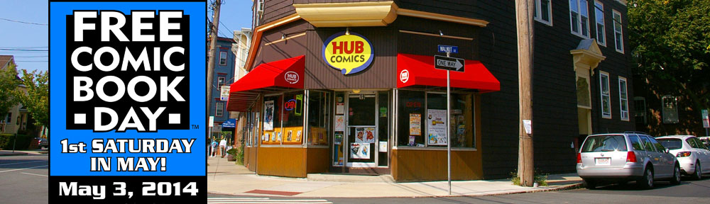 Hub Comics Boston