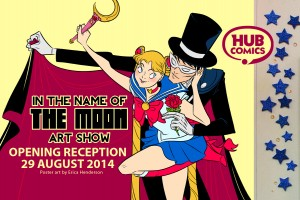 Hub Comics Sailor Moon Henderson