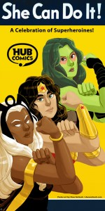 She Can Do It Hub Comics Vorbach