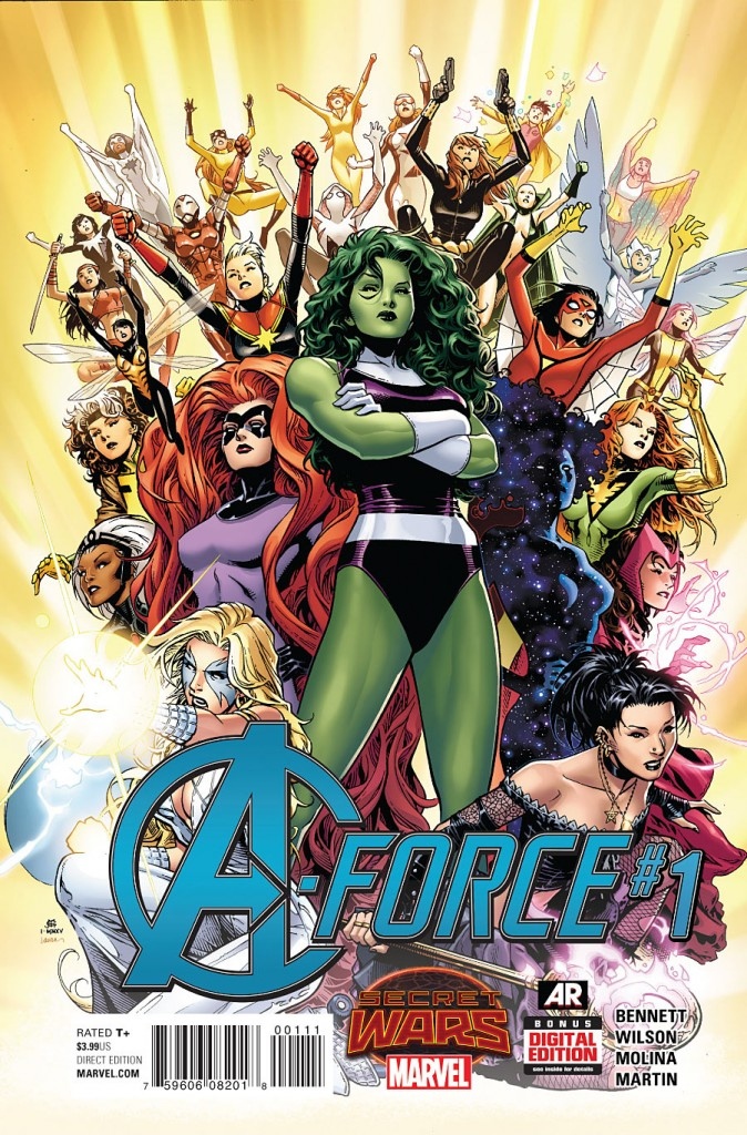 Hub Comics A-Force 1