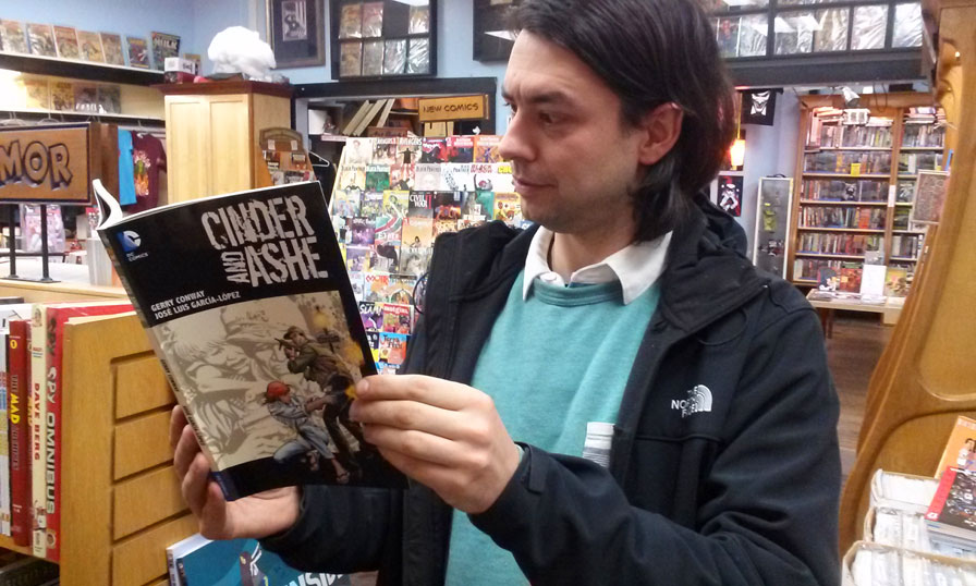 Hub Comics Jack Reviews Cinder Ashe