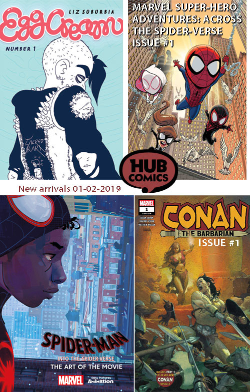 New arrivals 01-02-2019 - Hub ComicsHub Comics